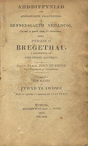 Amddiffyniad yr athrawiaeth ysgrythyrol o brynedigaeth neillduol ., y'nghyd a ber hanes o ...