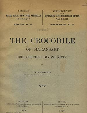 The crocodile of Maransart (Dollosuchus dixoni [Owen])