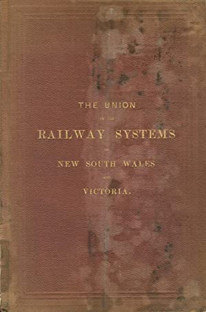 The union of the railway systems of New South Wales and Victoria. Celebration at Albury, on the ...