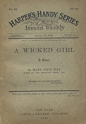 A wicked girl [cover title]: HAY, MARY CECIL