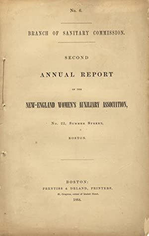 Second annual report of the New-England Women's Auxiliary Association: New England Women's ...