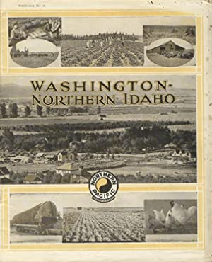 Washington - Northern Idaho [cover title]