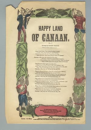 Happy land of Canaan. No. 2. As sung by Tony Pastor