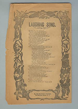The laughing song. From Auber's Manon Lescaut