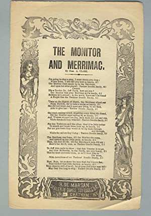 The Monitor and Merrimac. By Chas. A. Clark
