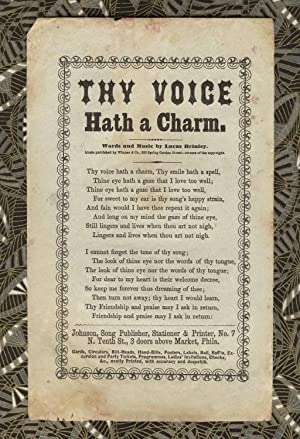 Thy voice hath a charm. Words and music by Lucas Brinley. Music published by Winner & Co., 933 Sp...