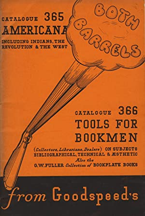 Both Barrels. Catalogue 365: Americana including Indians, the Revolution & the West [and] Catalog...