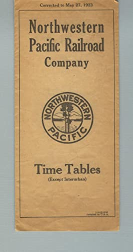 Time tables (except interurban) [panel title]