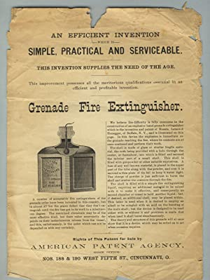 Grenade fire extinguisher [caption title]