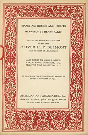 Sporting books and prints, drawings by Henry Alken, part of the renowned collection of the late O...