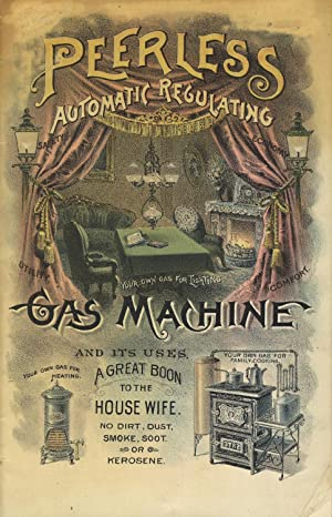 The Peerless automatic regulating gas machine