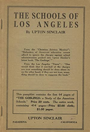 The schools of Los Angeles [cover title]: SINCLAIR, UPTON