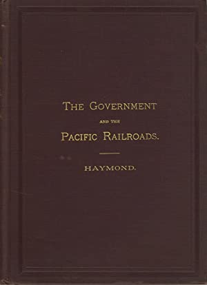 The Central Pacific Railroad Co. Its relations to the government. It has performed every obligati...
