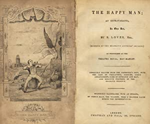 The happy man; an extravaganza, as performed at the Theatre Royal, Hay-Market: LOVER, S[AMUEL]