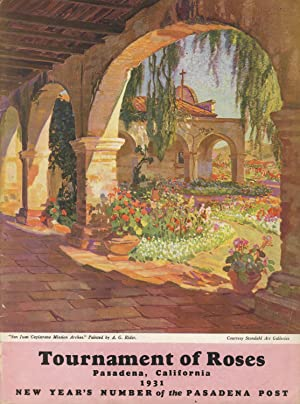 Souvenir booklets for the Tournament of Roses: Tournament of Roses
