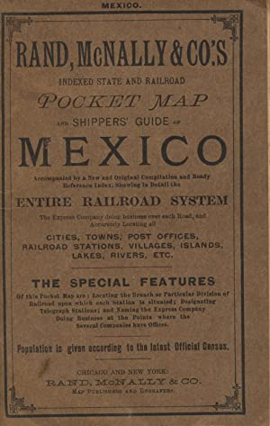 Rand, McNally & Co.'s Indexed pocket map and shippers' guide of Mexico