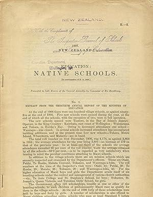 Education: Native schools [caption title]: New Zealand)