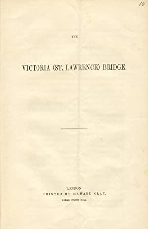 The Victoria (St. Lawrence) Bridge