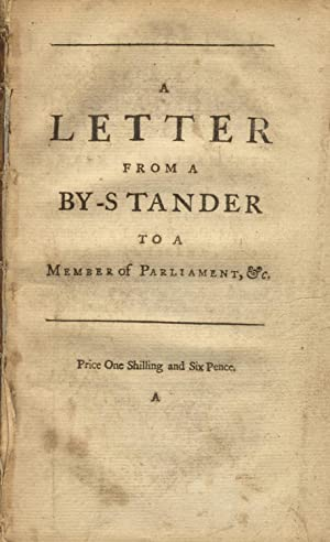 A letter from a by-stander to a member of Parliament: MORRIS, CORBYN]
