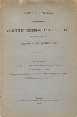 Scientific breeding and heredity; with some notes on research in Mendelism