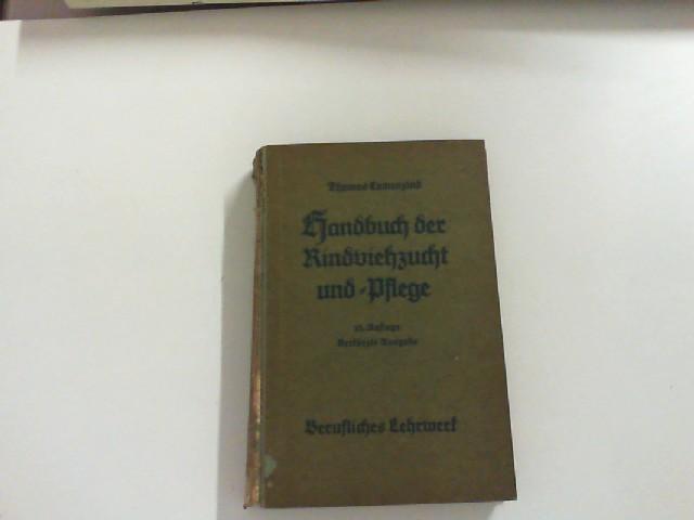 Camenzind Berufliches Lehrwerk 1949 Handbuch Der Rindviehzucht Und Pflege