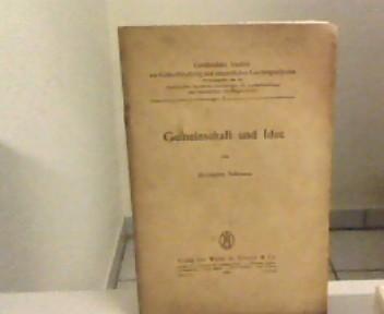 Gemeinschaft und Idee. Greifswalder Studien zur Lutherforschung: Schwarz, Hermann: