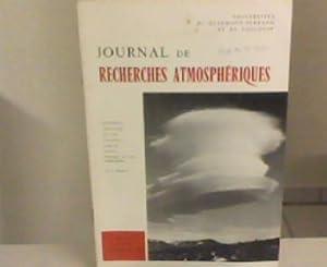 Journal de Recherches Atmospheriques Vol IV. Nr. Janvier-Mars 1969