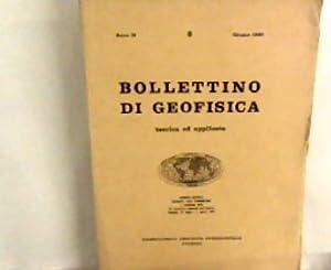 Bollettino di Geofisica - teorica ed applicata