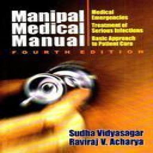 manipal medical manual 4th edition by vidyasagar acharya rh abebooks com manipal medical manual manipal medical manual free download