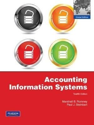 Accounting Information Systems (12th Edition): Romney