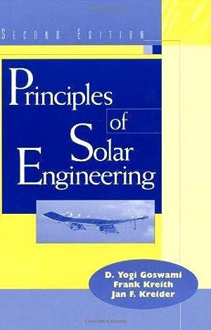 Principles of Solar Engineering ( 2nd Edition: D. Yogi Goswami