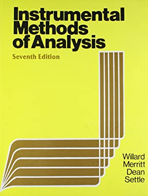 Instrumental Methods of Analysis ( 7th Edition: Willard