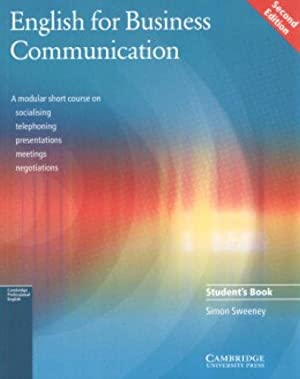 English for Business Communication Student's book ( 2nd Edition ): Sweeney Simon Sweeney