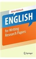 English for Writing Research Papers: Adrian Wallwork