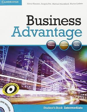 Business Advantage Intermediate Student's Book: Almut Koester ,