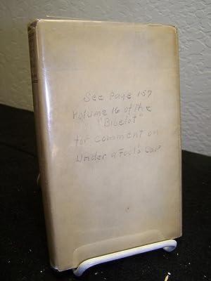Under a Fool's Cap:Songs.: Holmes, Daniel.