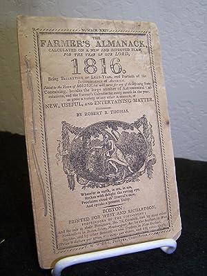 The Farmer's Almanack 1816.: Thomas, Robert B.