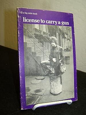 License to Carry a Gun.: Codrescu, Andrei.