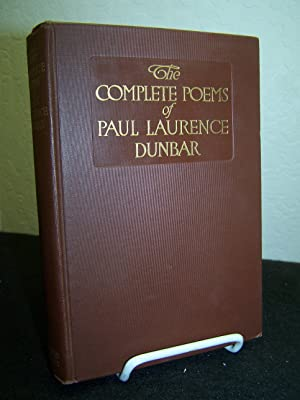 The Complete Poems of Paul Laurence Dunbar.: Dunbar, Paul Laurence.