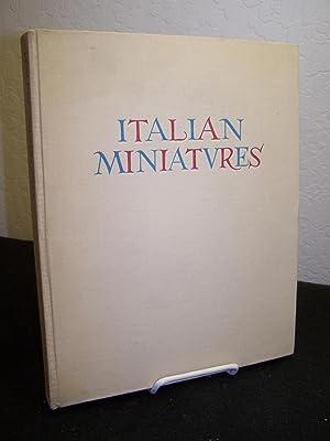 Italian Miniatures.: Salmi, Mario.