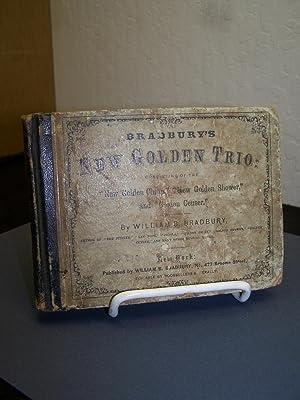 The New Golden Trio: or Bradbury?s Golden Series of Sabbath School Melodies.: Bradbury, William B.