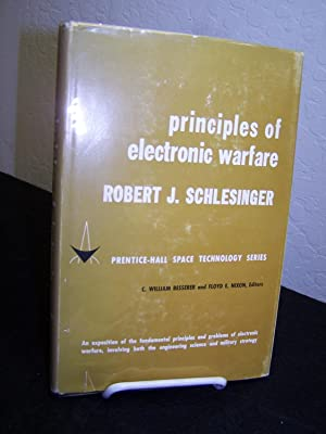 Principles of Electronic Warfare.: Schlesinger, Robert J.