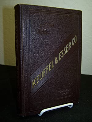 Catalogue of Keuffel & Esser Co. Manufacturers and Importers of Drawing Materials, Surveying ...