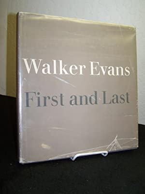 First and Last.: Evans, Walker.