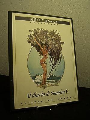 Milo Manara Portfoli: Il Diario di Sandra F.: Manara, Milo.