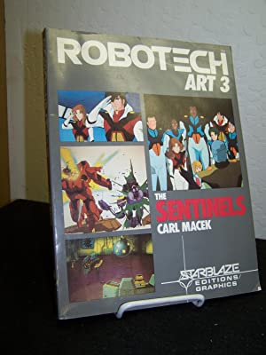 Robotech Art 3: The Sentinels.