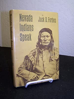 Nevada Indians Speak.: Forbes, Jack D., editor.
