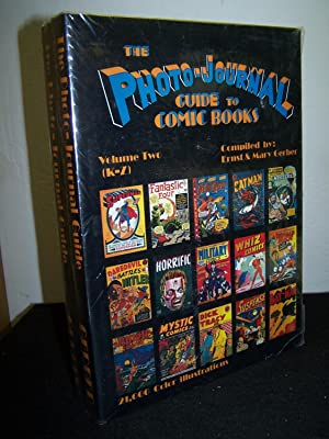 The Photo-Journal Guide to Comic Books (2 vols).: Gerber, Ernst and Mary.