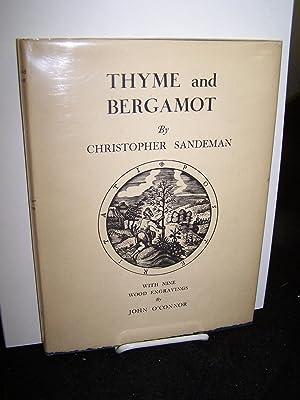 Thyme and Bergamot.: Sandeman, Christopher.