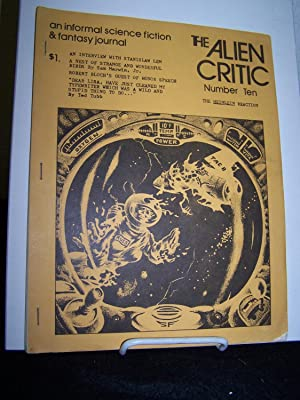The Alien Critic Number 10.: Geis, Richrd E., editor.